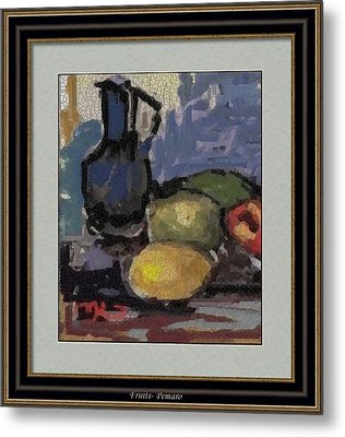 fruits F2 Metal Print