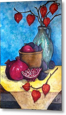 Fruits Of Season  Metal Print by Rae Chichilnitsky