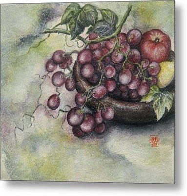 Fruits Metal Print by Tomoko Koyama
