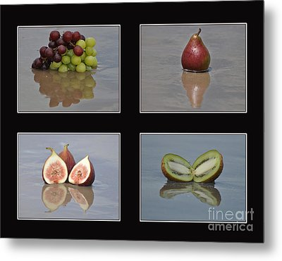 Fruitscapes Collage One Metal Print