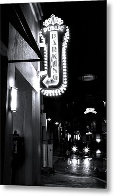 Ft. Lauderdale Nights Metal Print by Mark Andrew Thomas