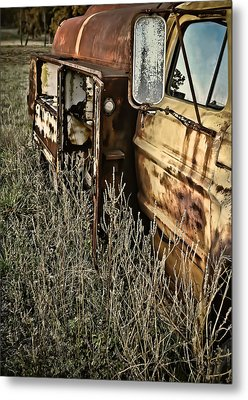 Metal Print featuring the photograph Fuel Oil Truck by Greg Jackson