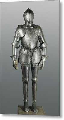 Full Armour. Made In Milan Metal Print by Everett