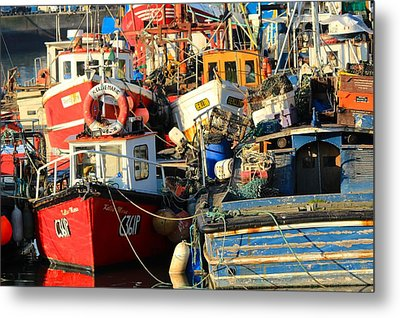Full Harbour Metal Print
