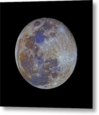 Full Moon Metal Print by Luis Argerich