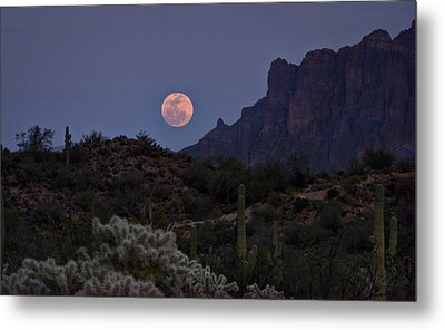 Full Moon Rising  Metal Print by Saija  Lehtonen