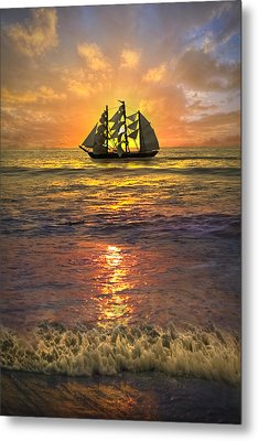 Full Sail Metal Print