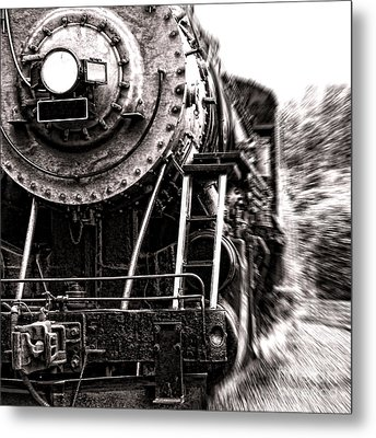 Full Steam Metal Print by Olivier Le Queinec
