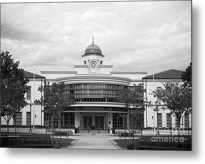 Fullerton College Library Metal Print by University Icons