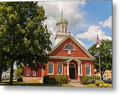 Fulton County Court House Metal Print by Sue Smith