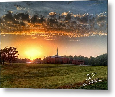 Fumc Sunset Metal Print