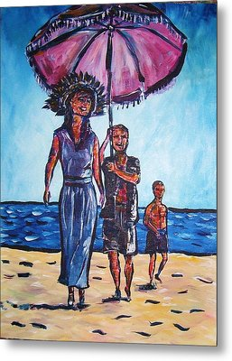 Fun In The Sun Metal Print by Linda Vaughon