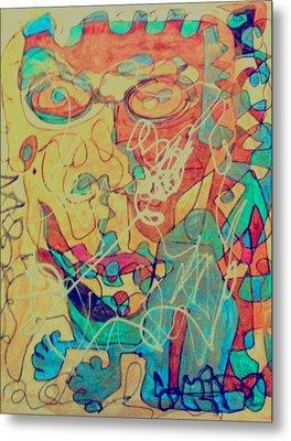 Funky Fresh Metal Print by Rick Burgunder