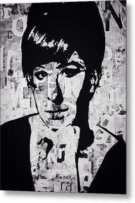 Funny Girl Metal Print by Trisha Buchanan