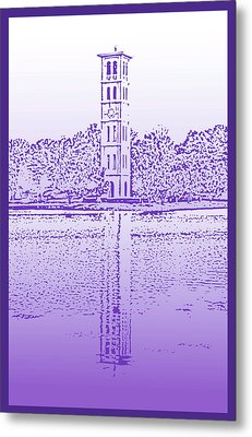 Furman Bell Tower Metal Print
