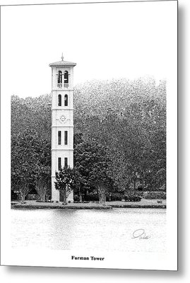 Furman Tower - Architectural Renderings Metal Print