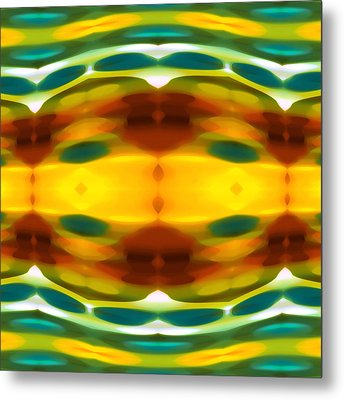 Fury Pattern 5 Metal Print by Amy Vangsgard