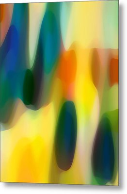 Fury Rain 5 Metal Print by Amy Vangsgard
