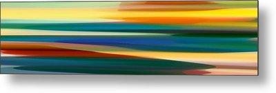 Fury Seascape Panoramic 1 Metal Print by Amy Vangsgard