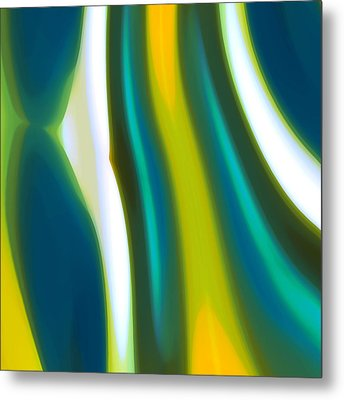 Abstract Tide 9 Metal Print by Amy Vangsgard