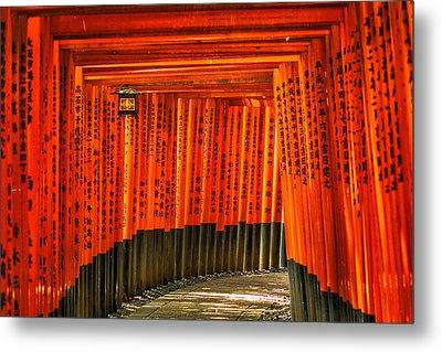 Fushimi Inari Metal Print by Jonah  Anderson