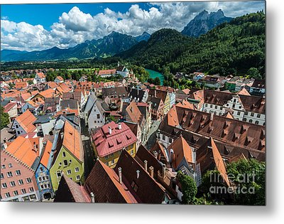 Fussen - Bavaria - Germany Metal Print by Gary Whitton