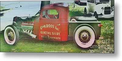 G And M Roos Inc. Metal Print by PainterArtist FIN