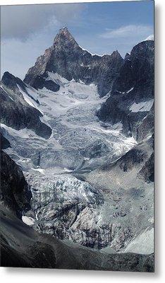 Gabelhorngletscher Metal Print by David Broome