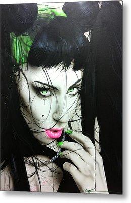 Lady Gaga - ' Gaga Iv ' Metal Print