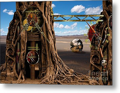 Gagilus Time Dream Metal Print by Franziskus Pfleghart