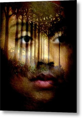 Metal Print featuring the photograph Gaia by Jodie Marie Anne Richardson Traugott          aka jm-ART