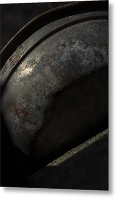 Metal Print featuring the photograph Galaxy In A Galvanized Pan by Rebecca Sherman