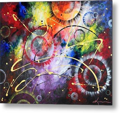 Galaxy Metal Print by Kume Bryant