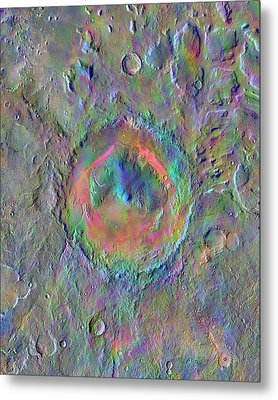 Gale Crater Metal Print