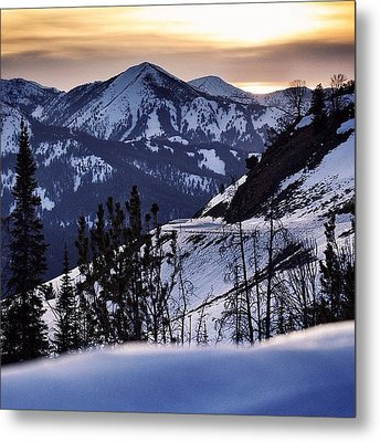 #galena #sunsets #idaho #mountains Metal Print by Cody Haskell