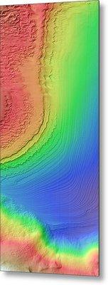 Galle Crater Metal Print