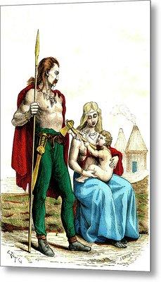 Gallic Family Metal Print