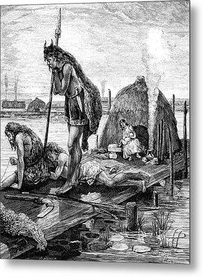 Gallic Water House Metal Print