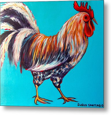 Gallo Metal Print