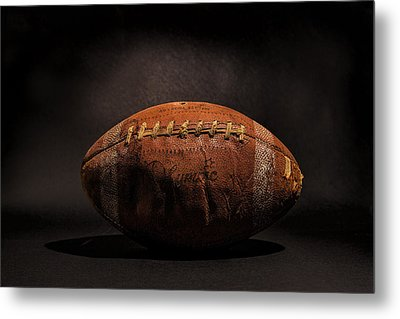 Game Ball Metal Print