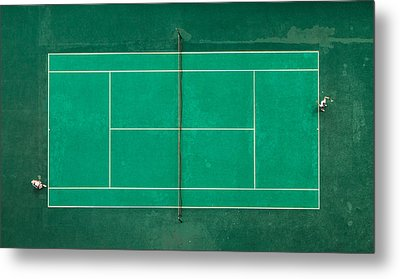 Game! Set! Match! Metal Print by Fegari