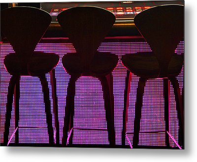 Game Table 2 Metal Print by Tammy Espino