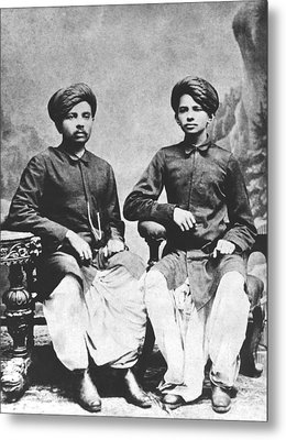 Gandhi Brothers Metal Print by Underwood Archives
