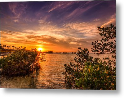 Gandy Sunset Metal Print by Marvin Spates