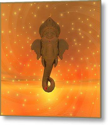 Ganesh II Metal Print