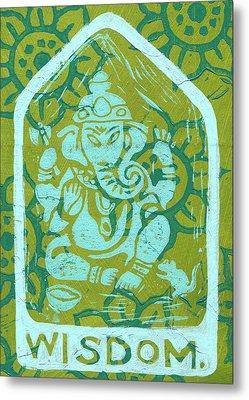 Ganesha Wisdom  Metal Print