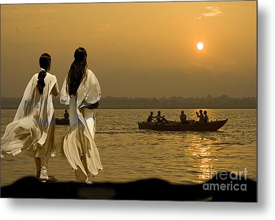Ganges Every Day Metal Print by Angelika Drake