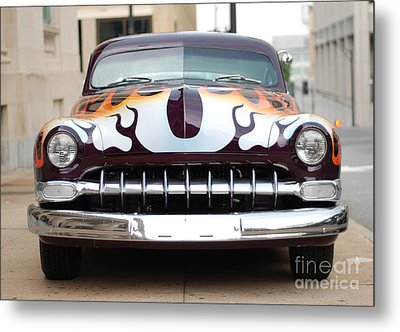 Gangster Car Metal Print by Jt PhotoDesign