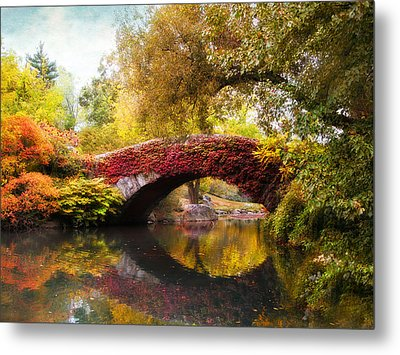Metal Print featuring the photograph Gapstow Bridge  by Jessica Jenney
