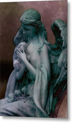 Forest Angel 3 Metal Print